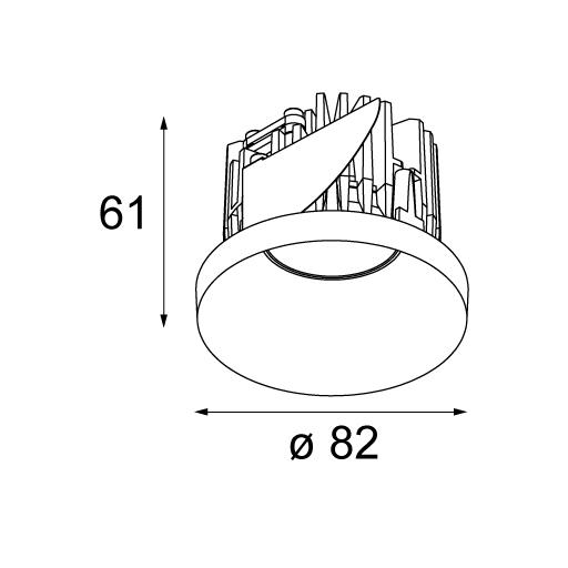 ... Modular Lighting Instruments u003e 12771009. Back  sc 1 st  The PLC Group & 12771009 - Modular Lighting Instruments - Ceiling Lamp - - Products ...